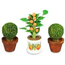 Reutter Porzellan Orangenbaum mit Buchs / Orange Tree Boxtree Puppenstube 1:12