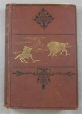 GREAT LONE LAND MAJOR W F BUTLER 1878 UK HB 8TH ED ILLUSTRATED W/MAP CANADA