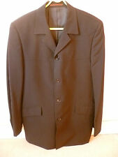 BLACK - DESIGNER -LONDON - TOP MAN Men's Suit Jacket ONLY - 40 INCHES