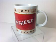 Scrabble Coffee Cup Tea Cocoa Letter Tiles Board Game White Red Mug Sherwood