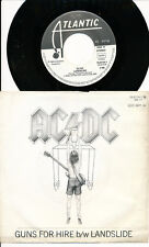 AC/DC 45 TOURS GERMANY GUNS FOR HIRE