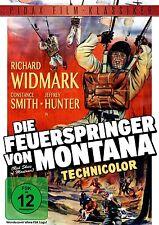 Die Feuerspringer von Montana * DVD Abenteuerfilm mit Richard Widmark Pidax Neu