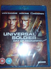 UNIVERSAL SOLDIER - DAY OF RECKONING - BLU-RAY BNIB