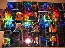 COMPLETE (18) CARDS SUBSET FOIL STARS OF THE OUTER LIMITS SEX CYBORGS & SF MINT