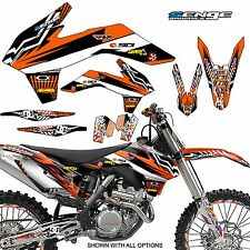 1998 1999 2000 KTM EXC 125 200 250 300 380 400 GRAPHICS KIT DECO DECALS MOTO