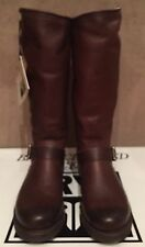 NEW WOMEN FRYE  VERONICA SLOUCH BROWN LEATHER TALL BOOTS SZ 9