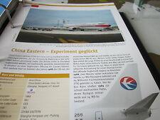 Airlines Archiv China China Eastern Airlines Experiment geglückt 8S