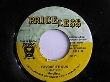 "MERCILESS - Favourite Gun, 1995 7"" Vinyl Single, Priceless (Jamaica.)"
