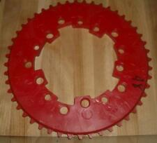 Vintage NOS Old School BMX Addicks 48th Red Chainring