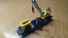 TOP: LEGO  12V  7814  Kran - Waggon  / Crane Wagon