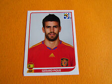 566 PIQUE ESPAÑA ESPAGNE PANINI FOOTBALL FIFA WORLD CUP 2010 COUPE DU MONDE