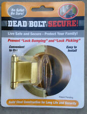MOST SOLD Dead Bolt Secure- Brass, Prevents Lock Picking & key Bumping