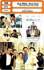 Movie Card. Fiche Cinéma. Tels pères, telle fille (USA) Emile Ardolino 1990