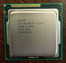 Intel Core i7-2600 3.4Ghz SR00B Processor Tested