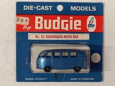 Budgie #12 DARK BLUE VW Bus New Blister Mint UNOPENED CONDITION Hot Wheels Car