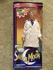 NIB Irwin Sailor Moon Deluxe Adventure Dolls Professor Tomoe Figure Damaged Box