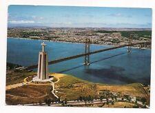 lisboa  portugal    christ le roi et pont  a.m
