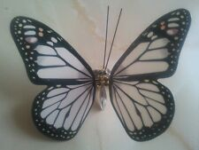 ALEXANDER McQUEEN LTD EDITION WHITE BUTTERFLY MONARCH HAIRCLIP
