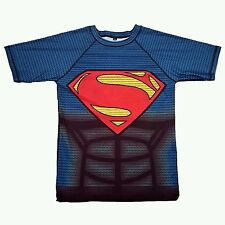 Superman compression top rashguard size l grapple kings bjj mma ufc