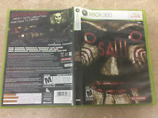 Saw (Microsoft Xbox 360, 2009) Complete! Tested! Works!