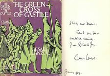 Cesare Lanzol - The Green Cross of Castille - Signed - 1st/1st