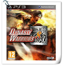 PS3 DYNASTY WARRIORS 8 PLAYSTATION Games Action Koei Tecmo Games