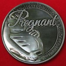 PREGNANT  LUCKY COIN, Beautiful Gift free ship