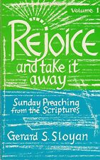 CATHOLIC BOOK   REJOICE AND TAKE IT AWAY   BY GERARD S. SLOYAN
