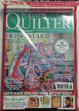 Today's Quilter UK Issue 18 2017 Fresh Start Projects Advice FREE SHIPPING sb