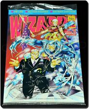 Wizard Comic Guide # 12, Vintage 1992, Jim Lee Cover Art & Interview, Must See!