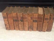 Dicken's Works OLIVER TWIST PICKWICK NICKLEBY leather 10 volumes morocco ALDINE