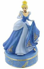 Disney Princess Cinderella Hinged Metal Die Cast Trinket Box Ornament DI103