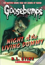 Classic Goosebumps #1: Night of the Living Dummy by R.L. Stine, (Mass Market Pap