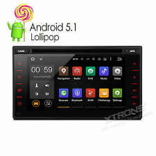 Android 5.1 Lollipop 2 DIN Car CD DVD GPS Stereo Navigation WIFI Bluetooth OBD2