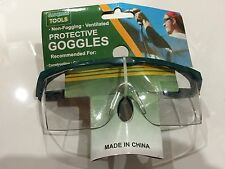 2 Pcs Goggles Glasses Lab Safety Protective Eye Carpentry Painting Construction