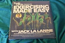 Family Circle Presents Exercising Made Easy Jack La Lanne LP