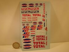"DECALS 1/24 PETROLIER  "" TOTAL "" - VIRAGES T66"