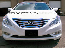 2PC CHROME ABS GRILLE GRILL OVERLAY FITS 2011 2012 2013 HYUNDAI SONATA