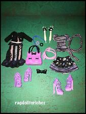 Monster High Catrine DeMew Replacement Arms With Scaris & New Scaremester Outfit