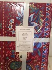 Williams Sonoma Berry Meadow Tablecloth Red 70x90 New! Holiday