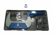 """MOORE AND WRIGHT DIGITRONIC MICROMETER 75-100MM / 3-4"""" MW200 - 04DBL MYFORD"""