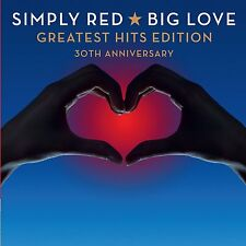 Big Love Greatest Hits Edition - Simply Red 2 CD Set Sealed ! New ! 2015 !