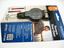 T-REIGN Medium Green Hunting RETRACTABLE Gear Tether w/ Carabiner! 0TR0-215