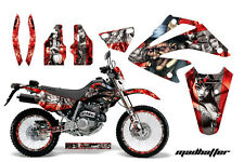 AMR Racing Honda XR 250SM Graphic Decal Number Plate Kit Bike Stickers 03-05 MH