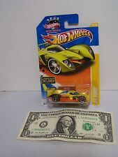 Hot Wheels Yellow / Orange 24 Ours - New Models With License Plate - Skull -2011