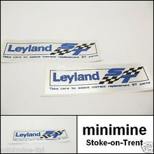 Classic Mini British Leyland ST Special Tuning Rocker Cover Sticker x2 PAIR maxi
