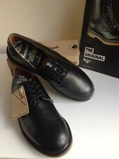 Bnwt!Sz7 Vtg England*Dr. Martens Solovair Air Cushioned*Bouncing Soles Leather
