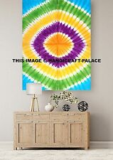 Indian Tie Dye Shibori Hippie Decor Mandala Tapestry Wall Hanging Throw Bohemian