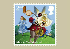 2015 GB Alice's Adventures in Wonderland Stamp Cards-10 in set