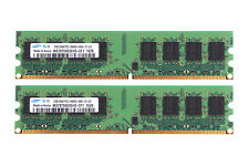Samsung 4GB 2X 2GB DDR2 800MHz PC2-6400U DIMM RAM memory For Dell OptiPlex 360